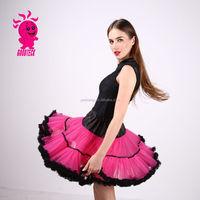 Adult Fluffy Pettiskirt TuTu Skirt For Women Fluffy Party Hot Pink TuTu Skirt Short pettiskirt Skirt