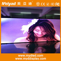 Easy maintain assemble no noise high quality ali led display full xxx vedio/p6mm x