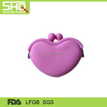 Hot sale silicone travel purses
