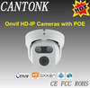 1.3 Mega Pixel IR Metal Dome IP Camera 2pcs Array IR Led low price Onvif CCTV webcam IP camera