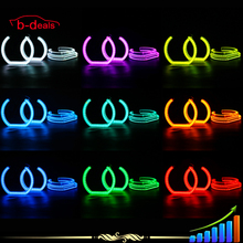 2015 Promotion rgb color changing led angel eyes for bmw e92