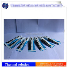 Silicone thermal adhesive sealant for bonding and coating