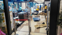 New Arrive EAS Retail Guard Alarm System Anti-theft RF Antenna Gate