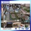 Miniature architecture models for factory building plans