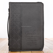 black classic leather bible cover