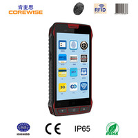 Handheld rugged smart phone with NFC, anti theft barcode labels scanner system (WIFI/GPRS/GPS/Bluethooth/Quad-core)