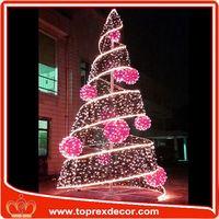 Expensive solar powered christmas tree