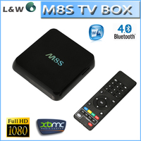 Original M8S Android TV Box 2G/8G Dual band 2.4G/5G wifi Android 4.4 Amlogic S812 Chip 4K XBMC Full HD Smart tv Media Player M8s