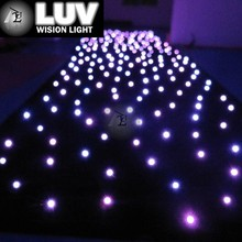 LUV-3LHC306 3m*6m RGB led star curtain light