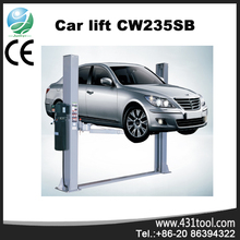 Best quality and good price for CW235SB double cylinder car lift bridge
