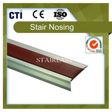 Rubber anti-slip strip/stair nosing for stairs (SLP-60/23)