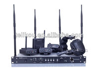 30% off!!! Full duplex four channel wireless cctv camera system