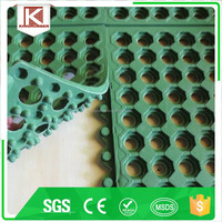 Rubber sheet interlocking door mat /deck mat/boat mat