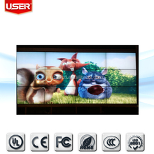 "Full color shopping mall 55"" lcd digital video wall touch screen for advertising VGA/HDMI/DVI/BNC with controller"