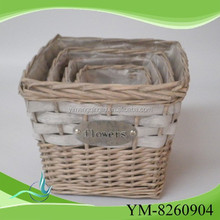 christmas decorative standing flower basket