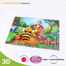 Custom 3D Cartoon Moving Pictures For Kids