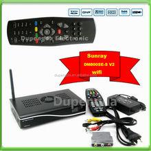 Sunray Sr4 V2 DM800 HD se Triple Tuner -S2/-C/-T Satellite Receiver with CCCam Account