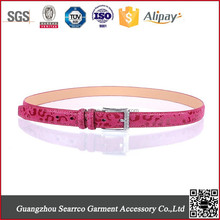 2015 Synthetic leather belt