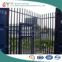 Easily Assembled green QYM-Hot-dipped Galvanized Palisade Fencing