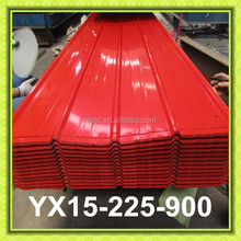 Cheap Price Colored Galvanized Metal Roof