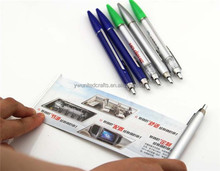 2015yiwu new product wholesale magnetic pen holder,ad banner pen