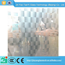 fashion and beautiful Pattern decorative glass etching