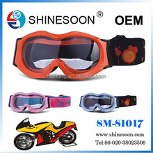 2015 New Products cool design motorcross goggles,helmet goggles