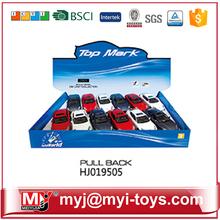 HJ019505 promotive gift 1/39 diecast model mini pull back car