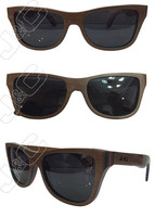 High quality and fashionable wooden eyewear with bamboo box and wholesale case
