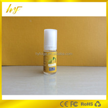 e liquid/e juice/essential oil use 10ml PET clear bottle with half-transparent flat top tamper evident seal and triangle sign