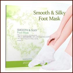 2014 New Beauty Exfoliating Foot Mask Foot Peeling Mask