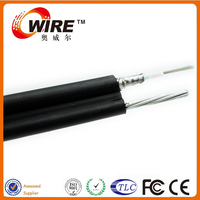 24 Core Unituble Light Armored Fiber Optic SM Fig 8 Outdoor Gyxtc8s Cable For IPTV System