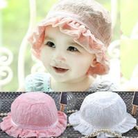 Summer Hat For a Newborn Crochet Baby Summer Lace Hat