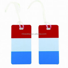 Country logo wholesale luggage tag