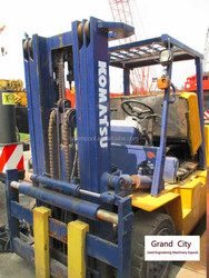 Used japan forklift 5 ton for sale, FD50-7, good price