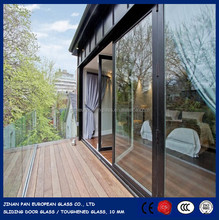 10 mm tempered glass sheet, tougheneed glass for sliding door using