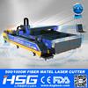 Cnc Metal Plates & Pipes fiber laser cutting machine with German IPG 500w fiber laser source HS-M3015B