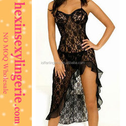 New Fashion Sexy Sleep Wear Long Gown