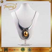 europeu 2015 lastese longa design ouro cobre pingente colar