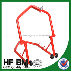 HF020 steel motorcycle rear stand, rear stand for motorcycle,steel motorcycle wheel stand