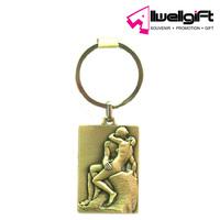 Metal Keychain /zinc alloy,blank custom metal keychain wholesale key fob