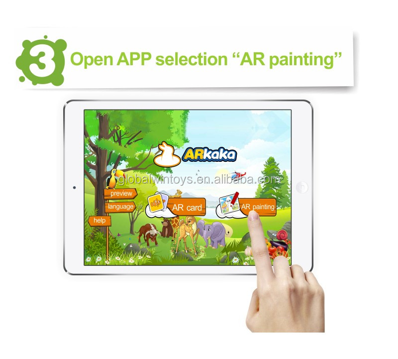 3D Coloring Book New Drawing AR Funny Painting 11