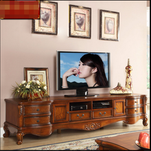 Antique High Gloss Living Room Wooden furniture lcd TV Stand For Sale