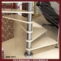 barandilla y narices para escaleras interiores