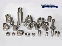 Forged High Pressure steel forged Pipe Fittings Stainless Steel Fittings