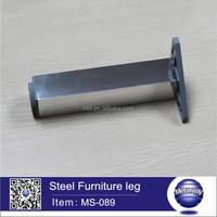 triangle plate square sofa leg/stainless steel furniture leg/short sofa leg