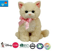 Kids Favorite Musical Plush Toy Cat/plush toy white cat animated