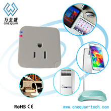 Made in China remote control smart power plug US standard wall usb socket wifi smart socket for Android and IOS