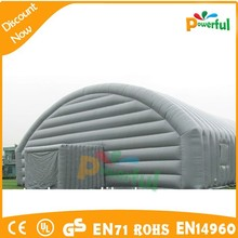 Factory price 0.45mm PVC inflatable lawn tent/inflatable tent warehouse