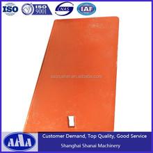 High Manganese Steel Impact Crusher Wear Liner Plate